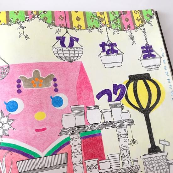 『ひみつの花園』ひな祭り2 (8)