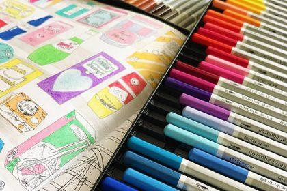 ステッドラー水彩色鉛筆の感想は?【大人の塗り絵のおすすめ色鉛筆】