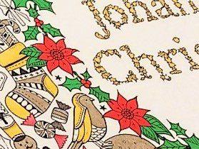 大人の塗り絵をクリスマスカラーに塗るコツ☆『ジョハンナからの贈りもの』