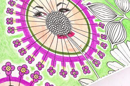 マツコの知らない大人の塗り絵の世界?『ひみつの花園』にコラボ塗り♪
