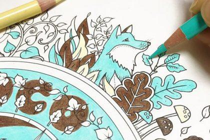 パステルカラーが涼しげ☆『ねむれる森』のコンパスをチョコミント色に!